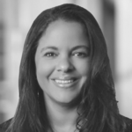 Corporate headshot of Denise Dye.